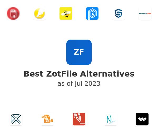 Best ZotFile Alternatives