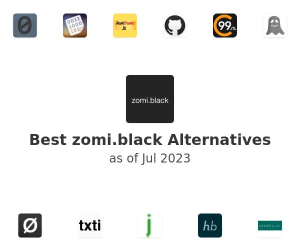Best zomi.black Alternatives