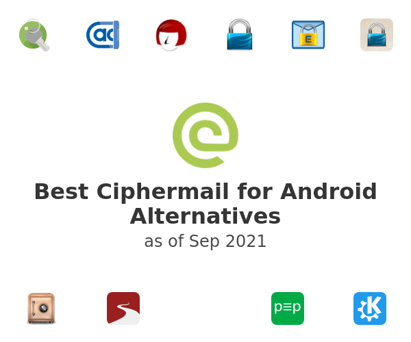 Best Ciphermail for Android Alternatives