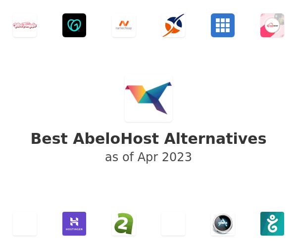 Best AbeloHost Alternatives