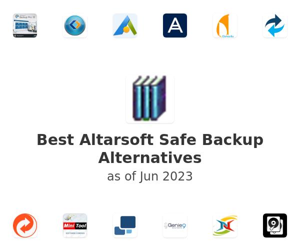Best Altarsoft Safe Backup Alternatives