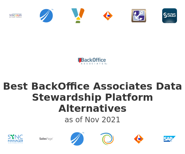 Best BackOffice Associates Data Stewardship Platform Alternatives
