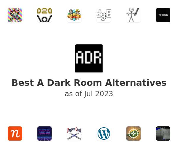 Best A Dark Room Alternatives