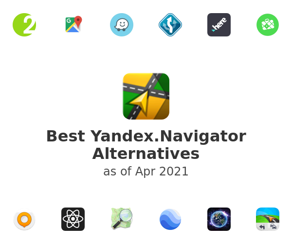 Best Yandex.Navigator Alternatives