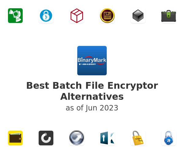 Best Batch File Encryptor Alternatives