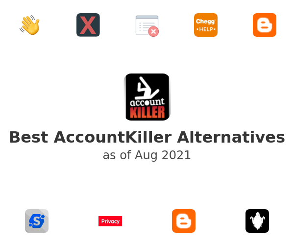 Best AccountKiller Alternatives