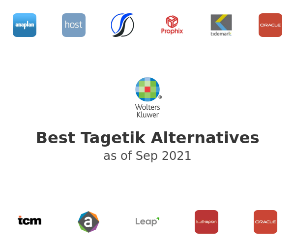 Best Tagetik Alternatives