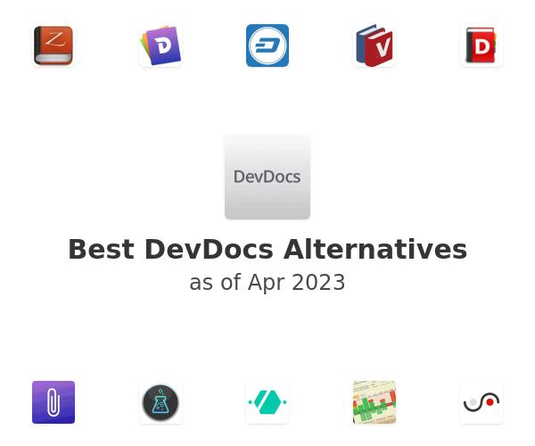 Best DevDocs Alternatives