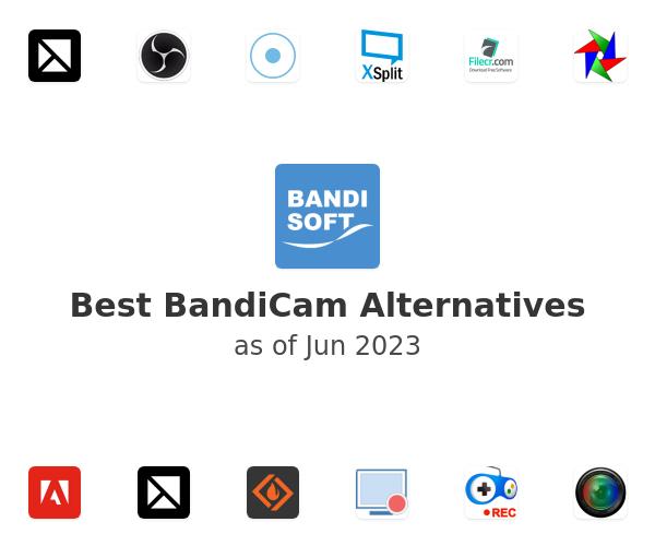 Best BandiCam Alternatives