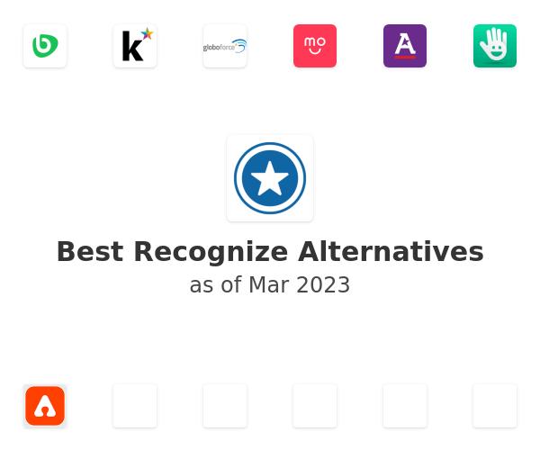 Best Recognize Alternatives