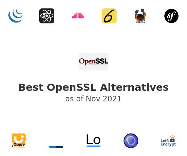 Best OpenSSL Alternatives
