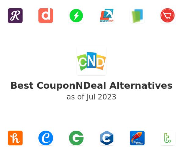 Best CouponNDeal Alternatives