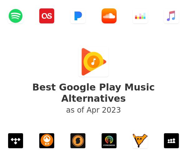 Best Google Play Music Alternatives