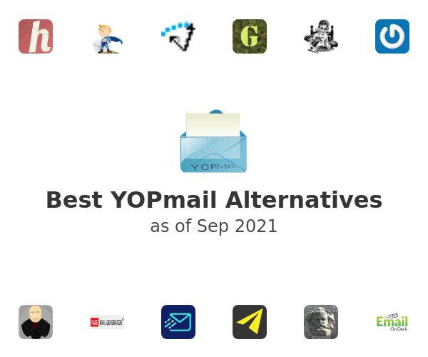 Best YOPmail Alternatives