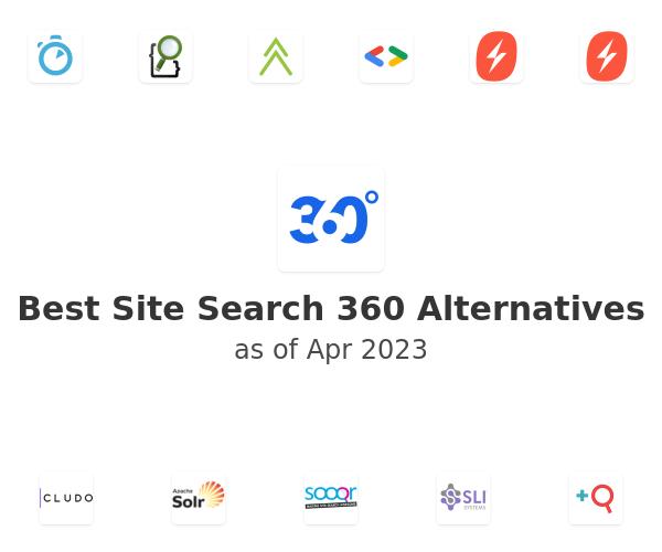 Best Site Search 360 Alternatives