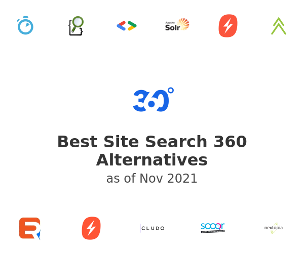Best Site Search 360 Alternatives