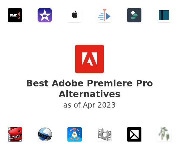 Best Adobe Premiere Pro Alternatives