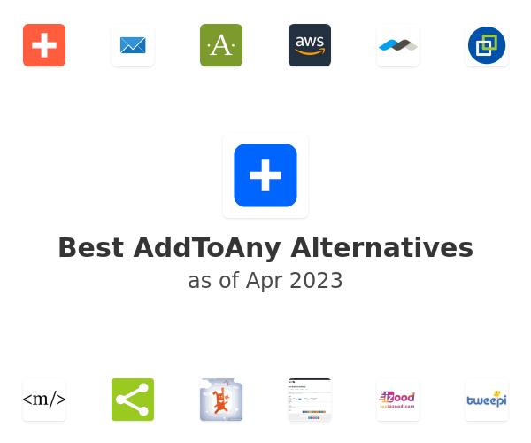 Best AddToAny Alternatives