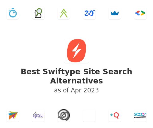 Best Swiftype Site Search Alternatives