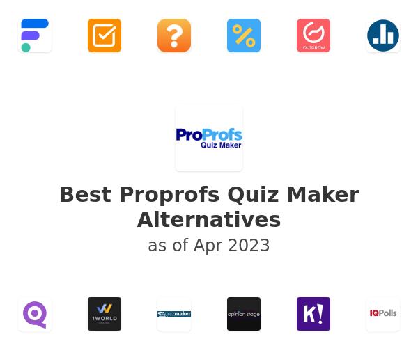 Best Proprofs Quiz Maker Alternatives