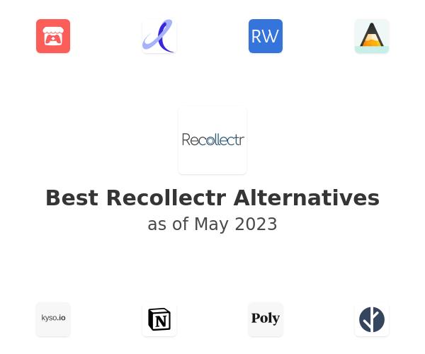 Best Recollectr Alternatives