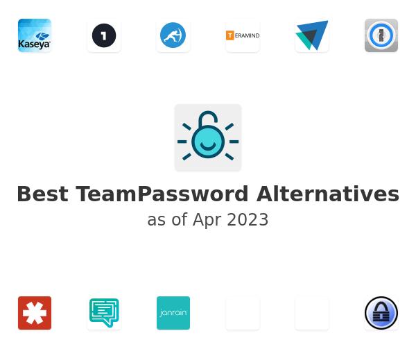 Best TeamPassword Alternatives