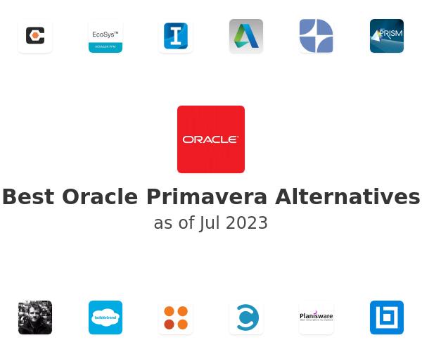 Best Oracle Primavera Alternatives