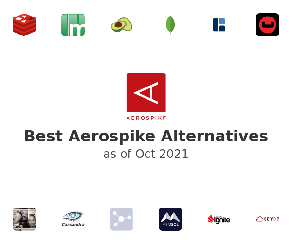Best Aerospike Alternatives