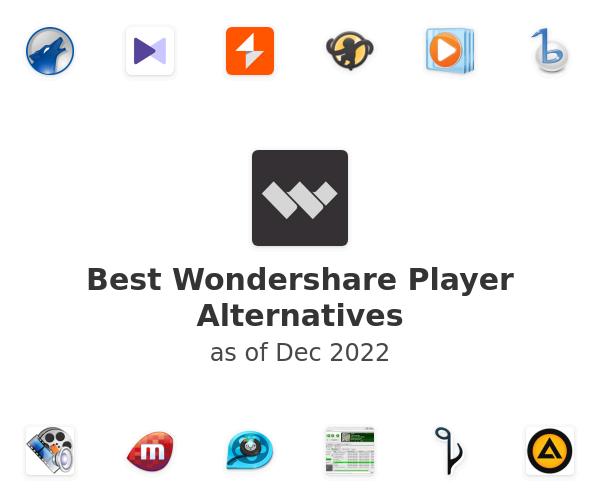 Best Wondershare Player Alternatives