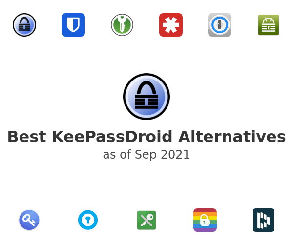 Best KeePassDroid Alternatives