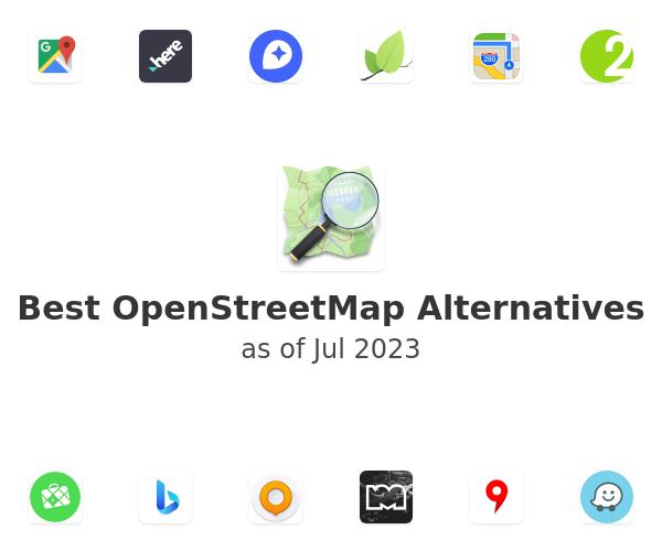 Best OpenStreetMap Alternatives