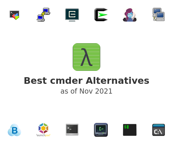 Best cmder Alternatives