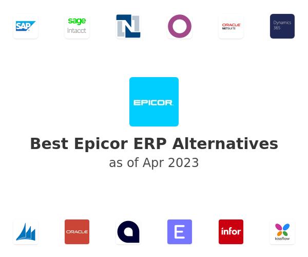 Best Epicor ERP Alternatives
