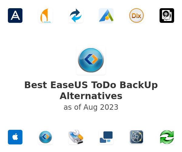 Best EaseUS ToDo BackUp Alternatives