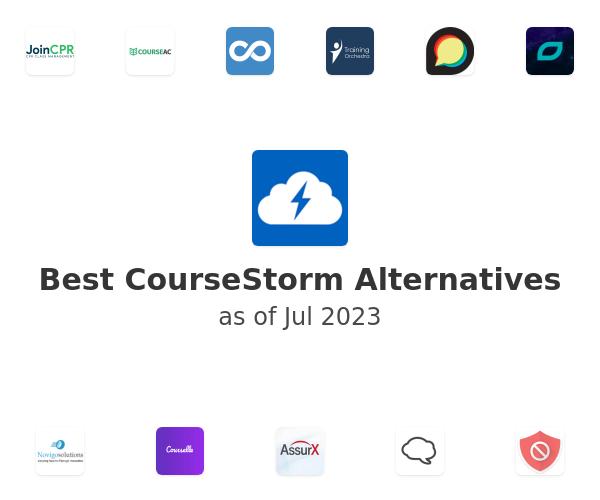 Best CourseStorm Alternatives