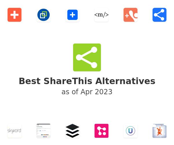 Best ShareThis Alternatives
