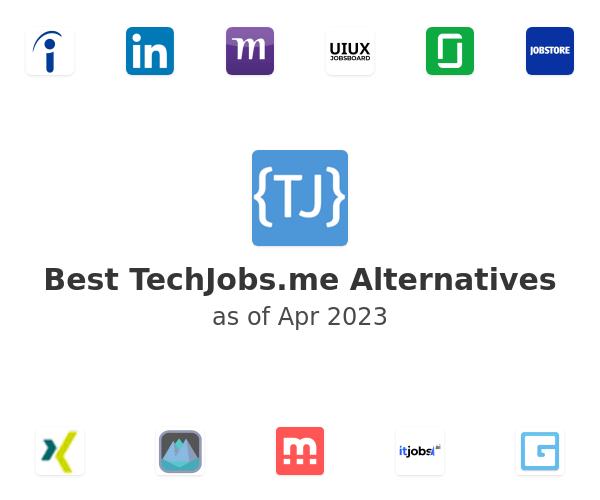 Best TechJobs.me Alternatives
