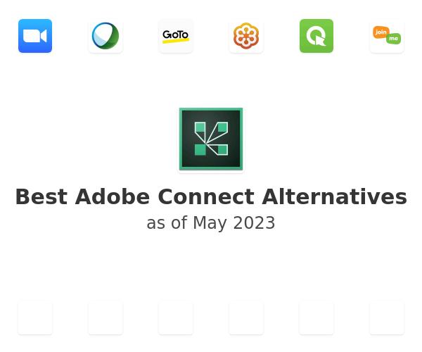 Best Adobe Connect Alternatives