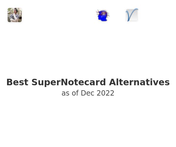 Best SuperNotecard Alternatives
