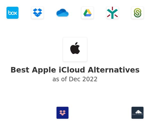 Best Apple iCloud Alternatives