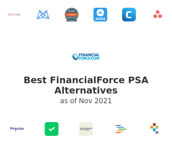 Best FinancialForce PSA Alternatives