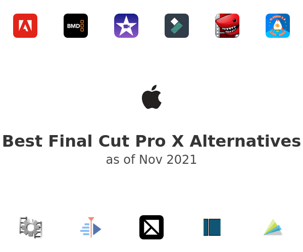 Best Final Cut Pro X Alternatives