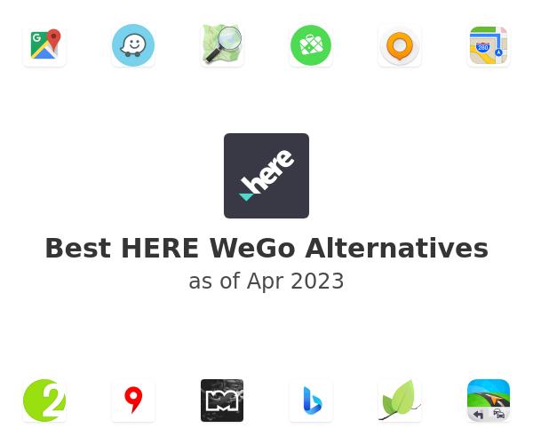 Best HERE WeGo Alternatives