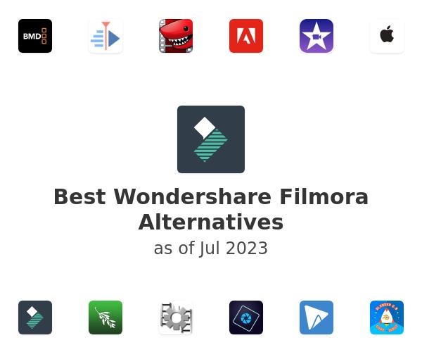 Best Wondershare Filmora Alternatives