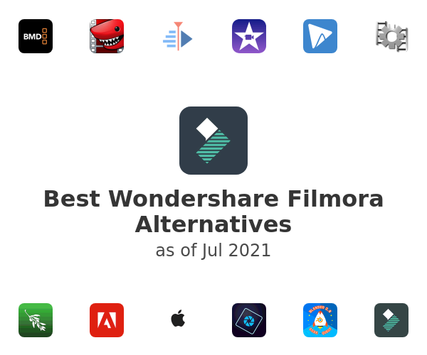 Best Wondershare Filmora Alternatives