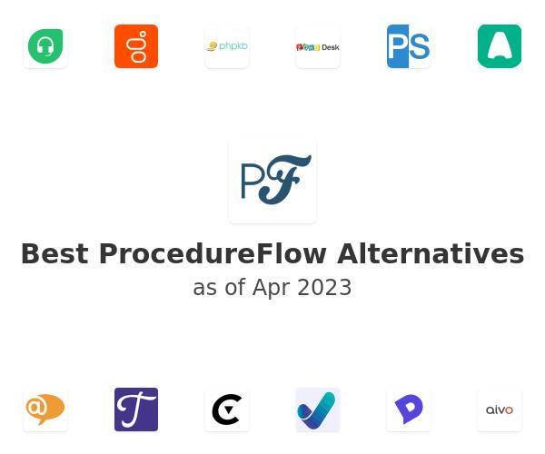 Best ProcedureFlow Alternatives