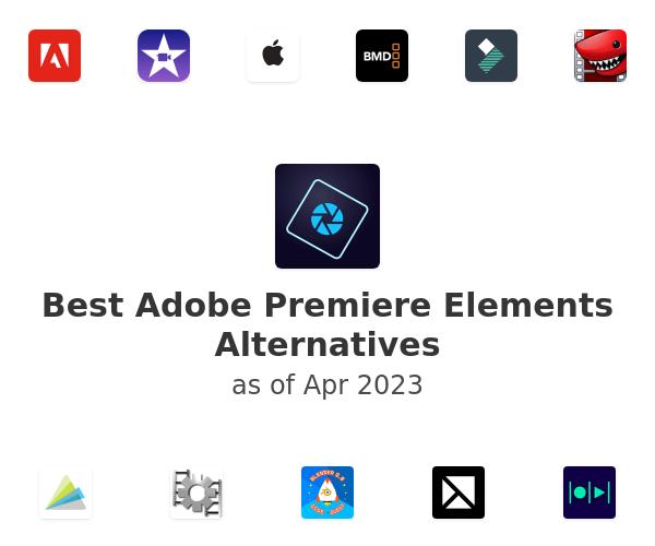Best Adobe Premiere Elements Alternatives