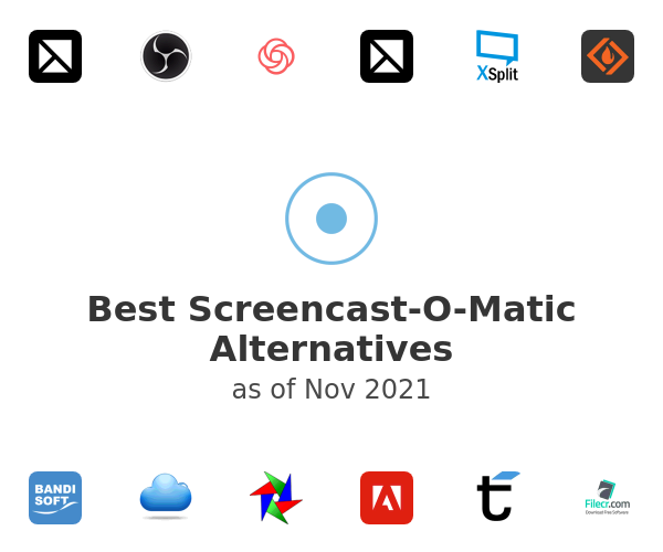 Best Screencast-O-Matic Alternatives
