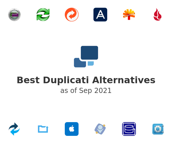 Best Duplicati Alternatives