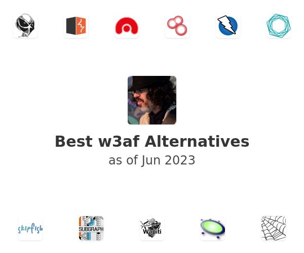 Best w3af Alternatives
